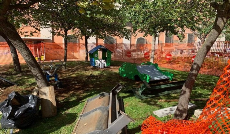 Cantiere parco
