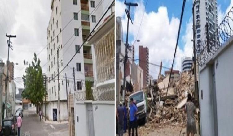 fortaleza palazzo crollato