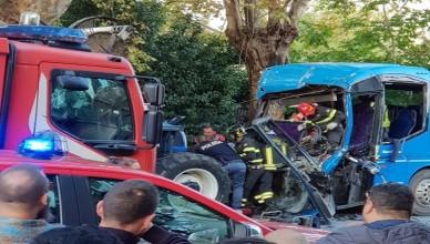incidente bus cassino