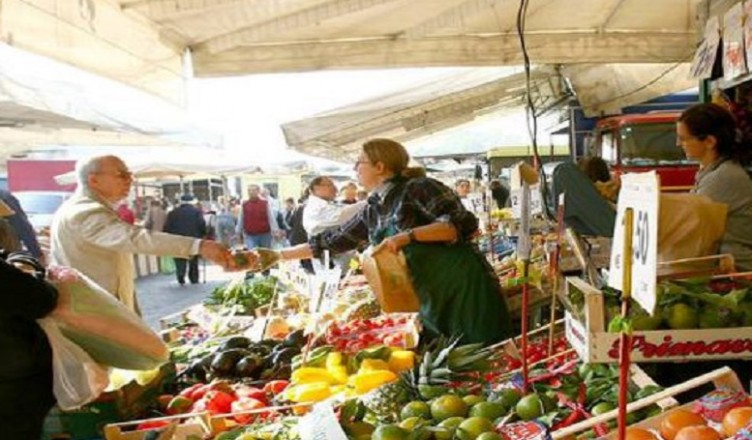 mercato alimentare..