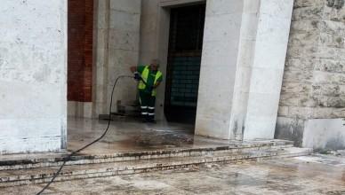 fr Vittorio Veneto Belvedere pulizia