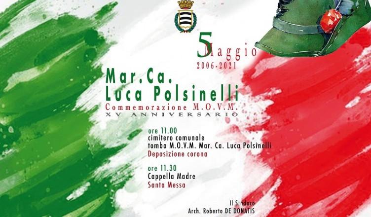 Commemorazione LUCA POLSINELLI