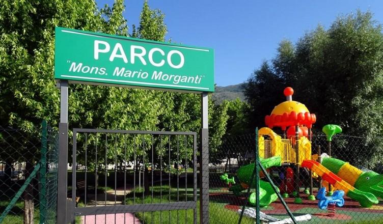 """parco """"Mons. M. Morganti"""" sora"""