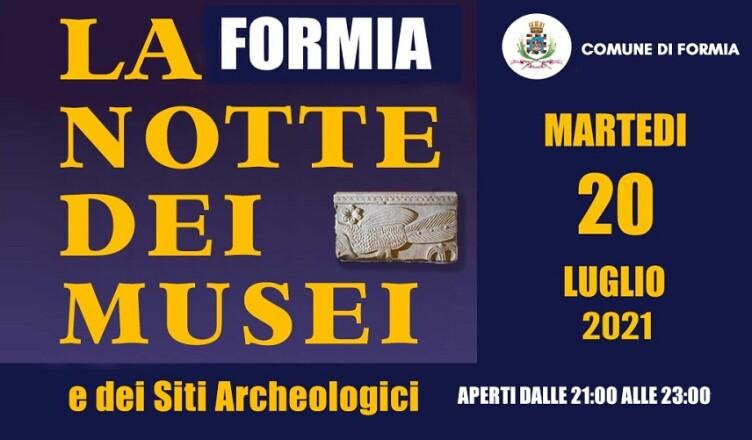 Formia-Notte-Musei