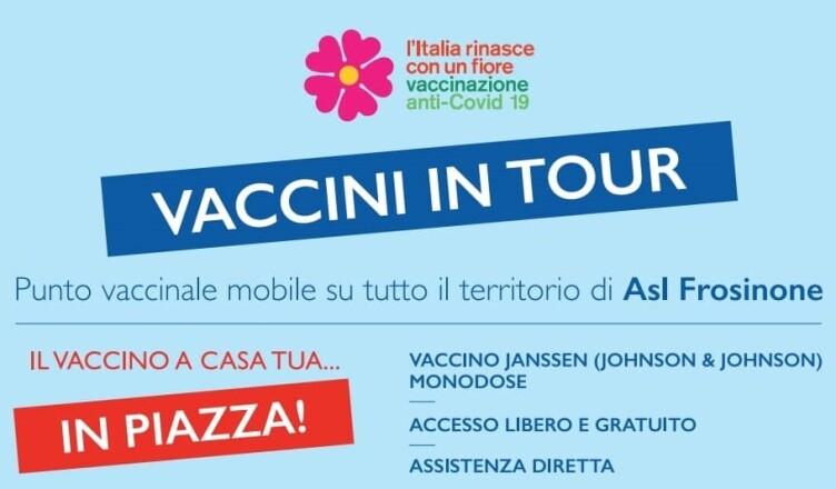 vaccini in tour ciociaria
