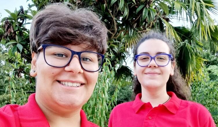 Aurora Borzacchini e Martina Pandozzi